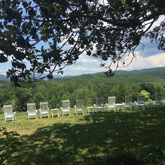 Lunchtime views #blackberryfarm #girlstrip