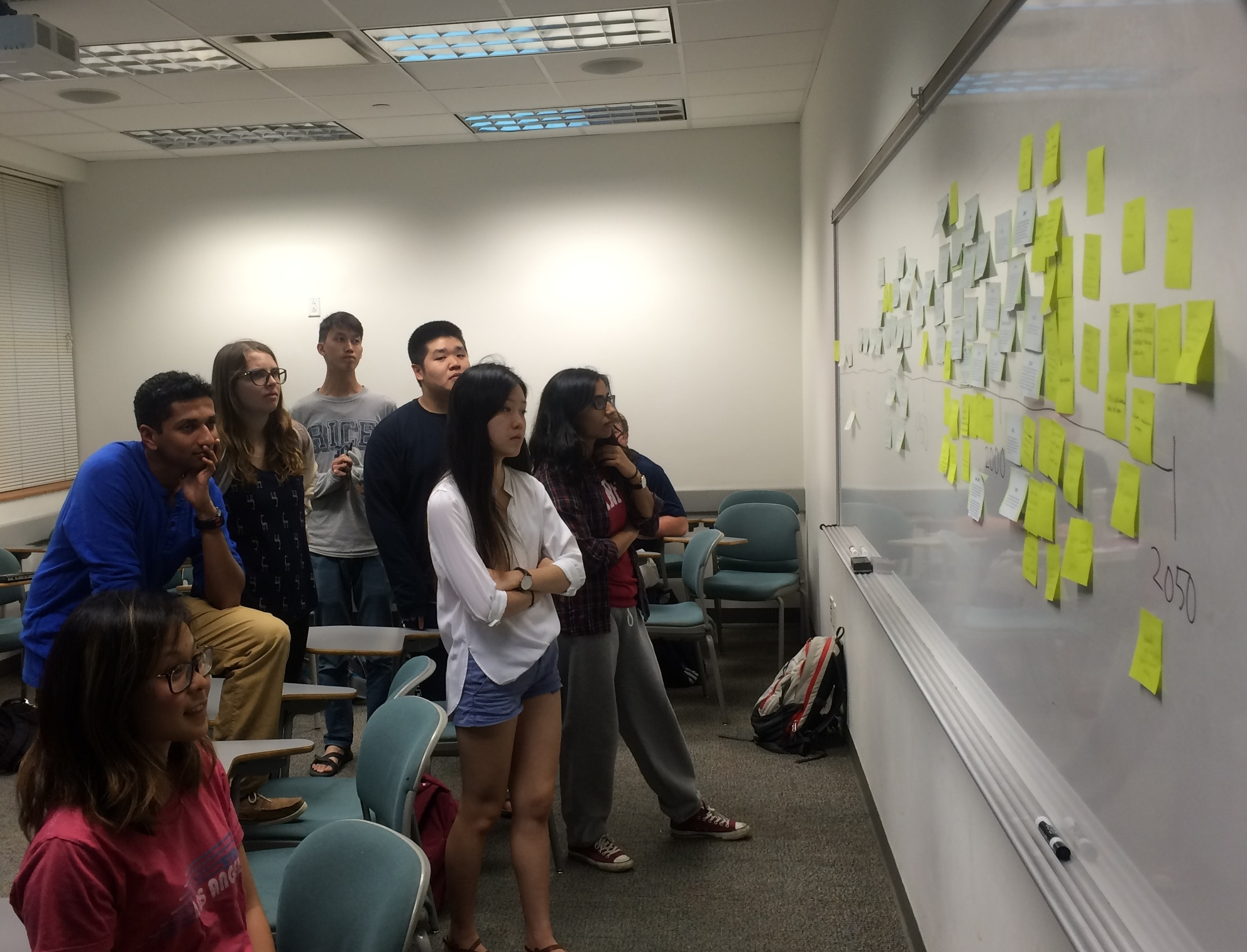 Students in  COLL 104   Understanding Asian America Through Food