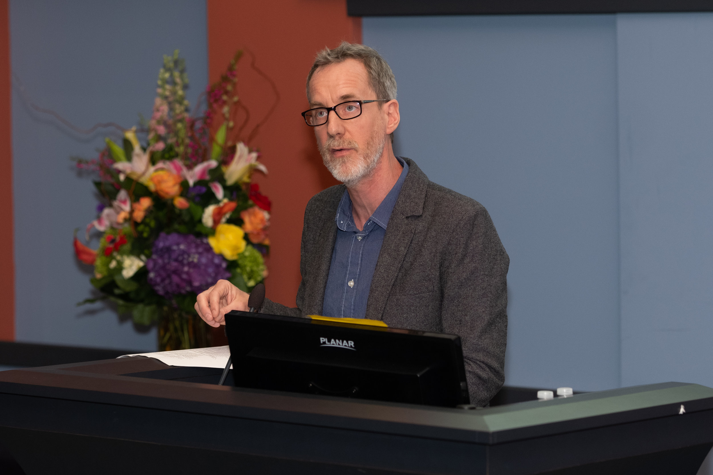 Robert Werth, Senior Lecturer in Sociology and 2018 Recipient of the GRB Prize for Excellence in Teaching