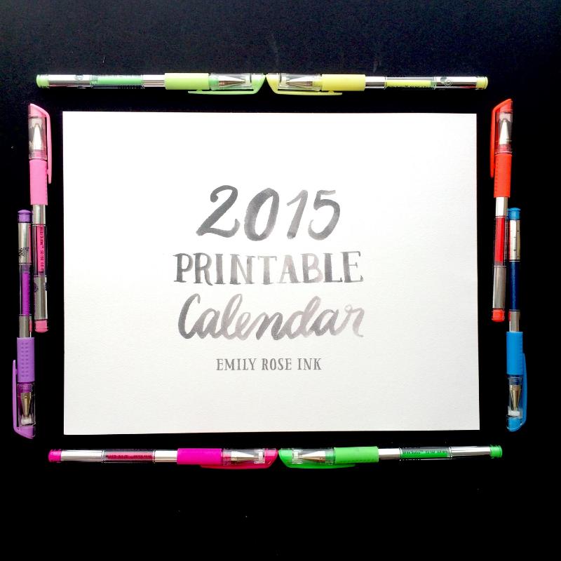 ERI 2015 printable calendar