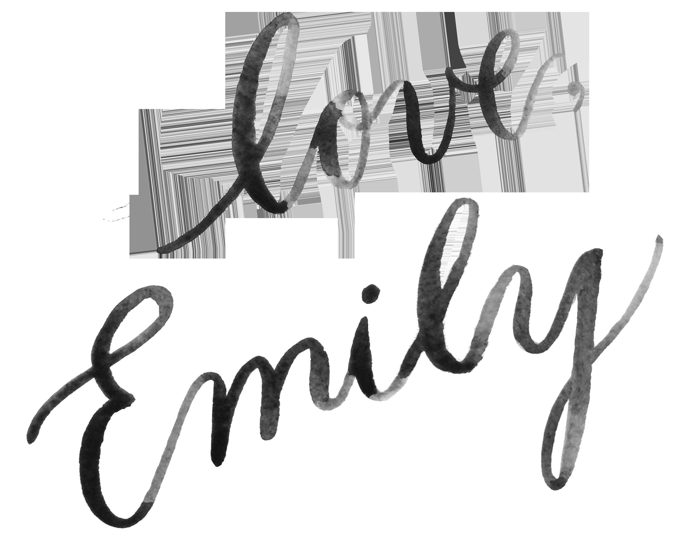 Emily Rose Ink signature