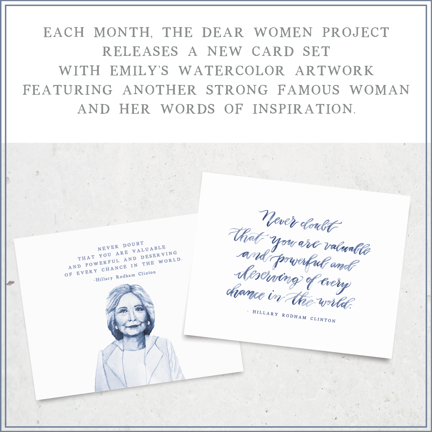 dear women project hillary rodham clinton cards.png