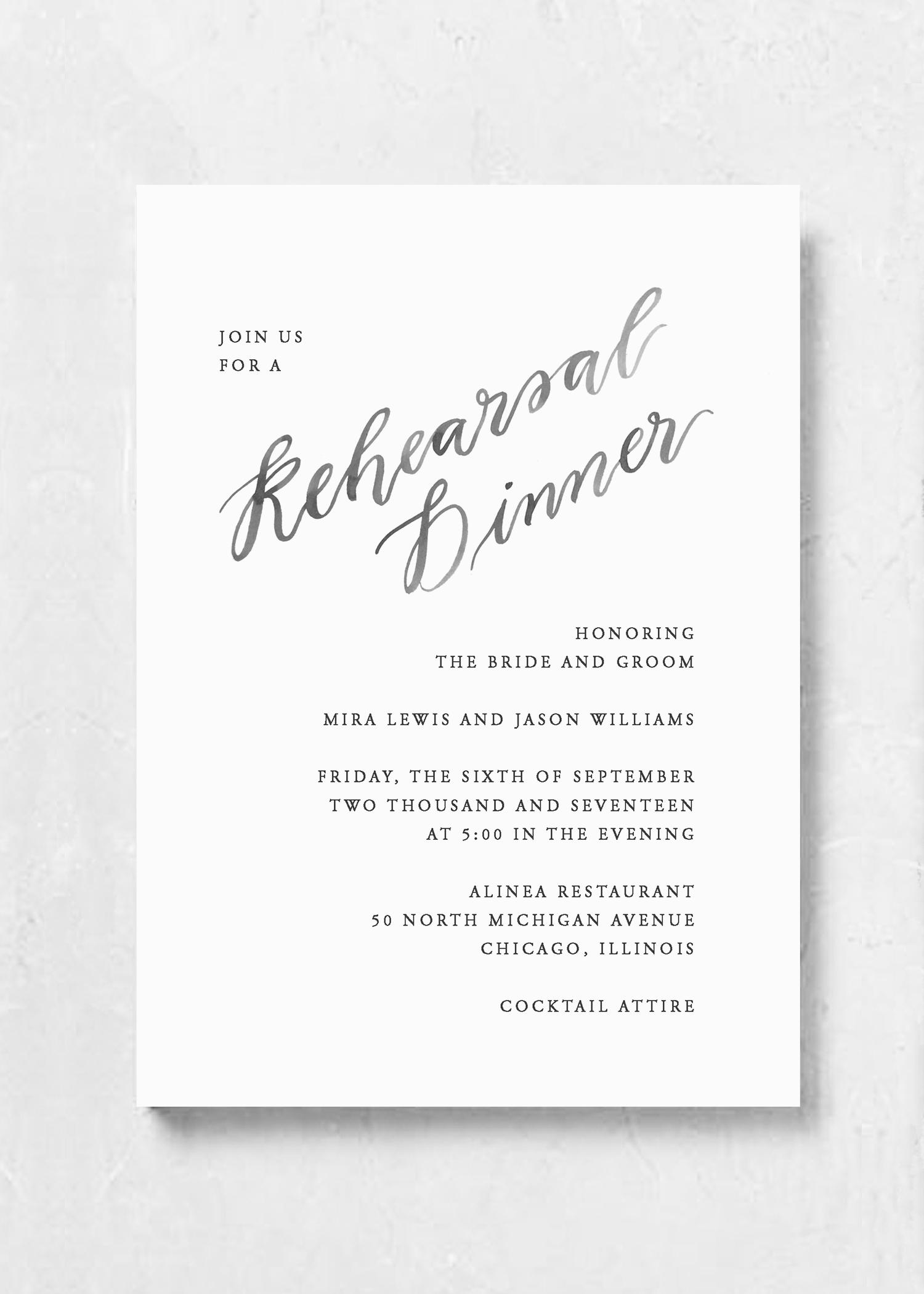 EVENT INVITATION