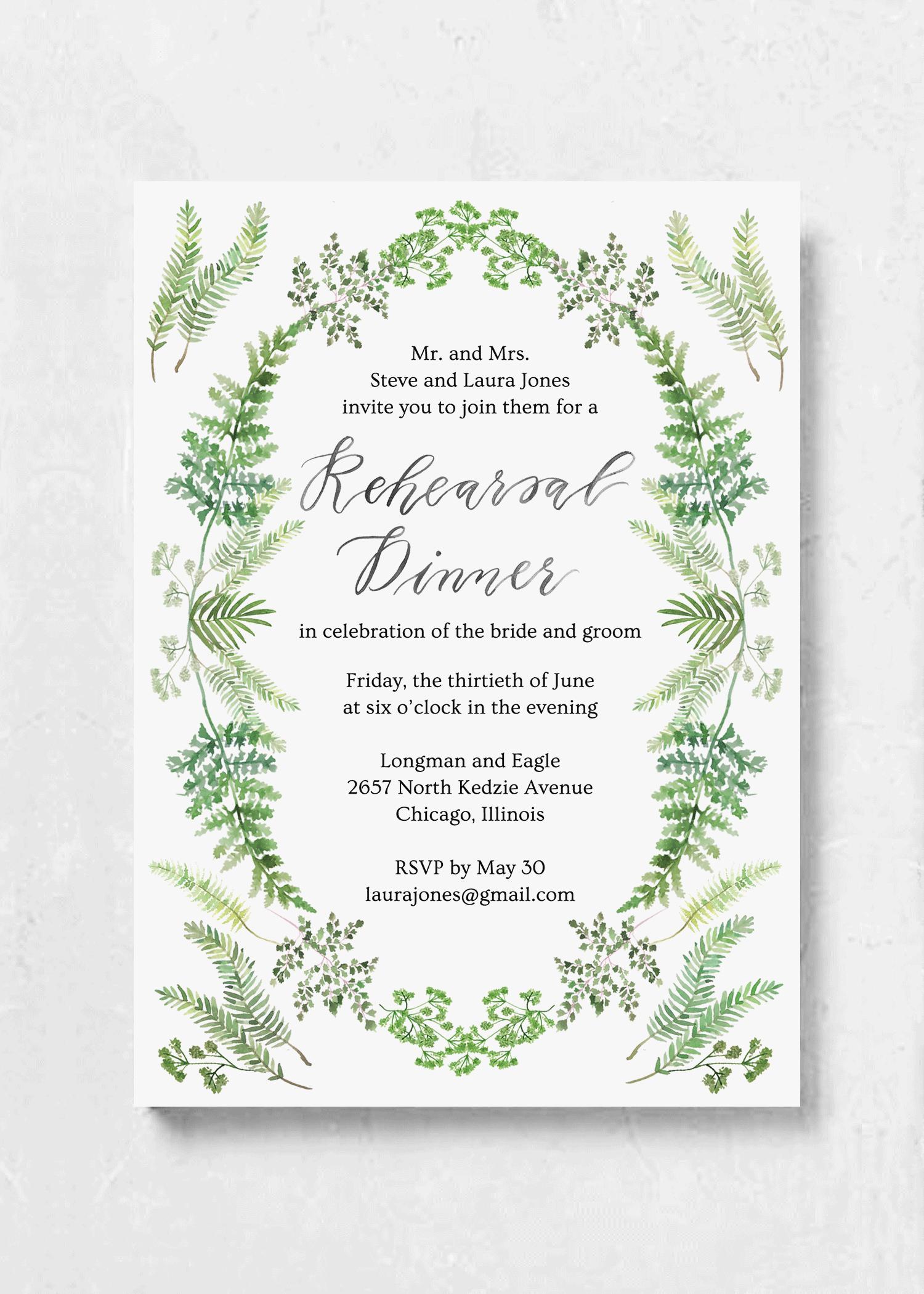 event invitation greenhouse