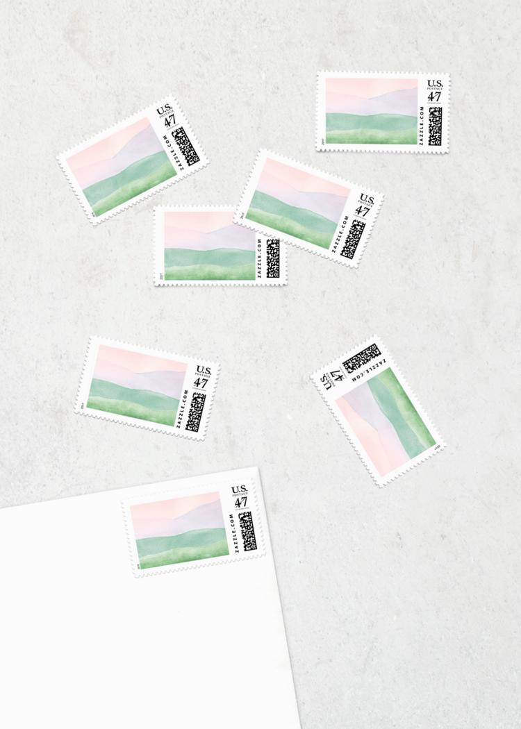 custom postage rolling hills