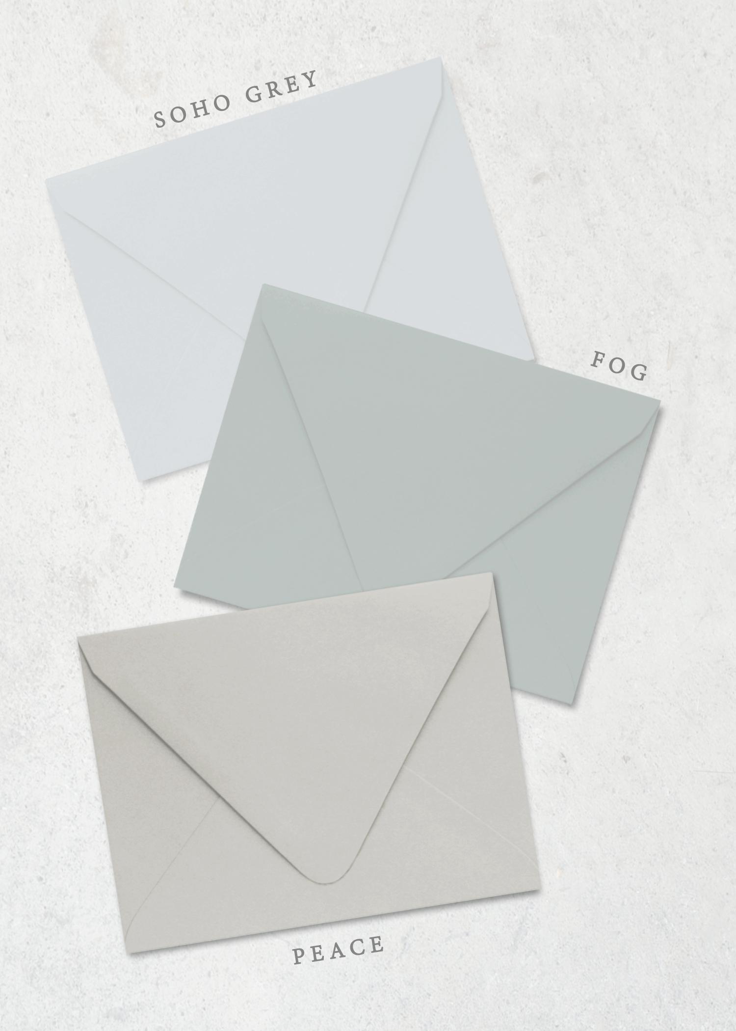 Color Envelopes Organic Laurel
