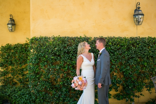 Mediterranean garden wedding Miramonte resort