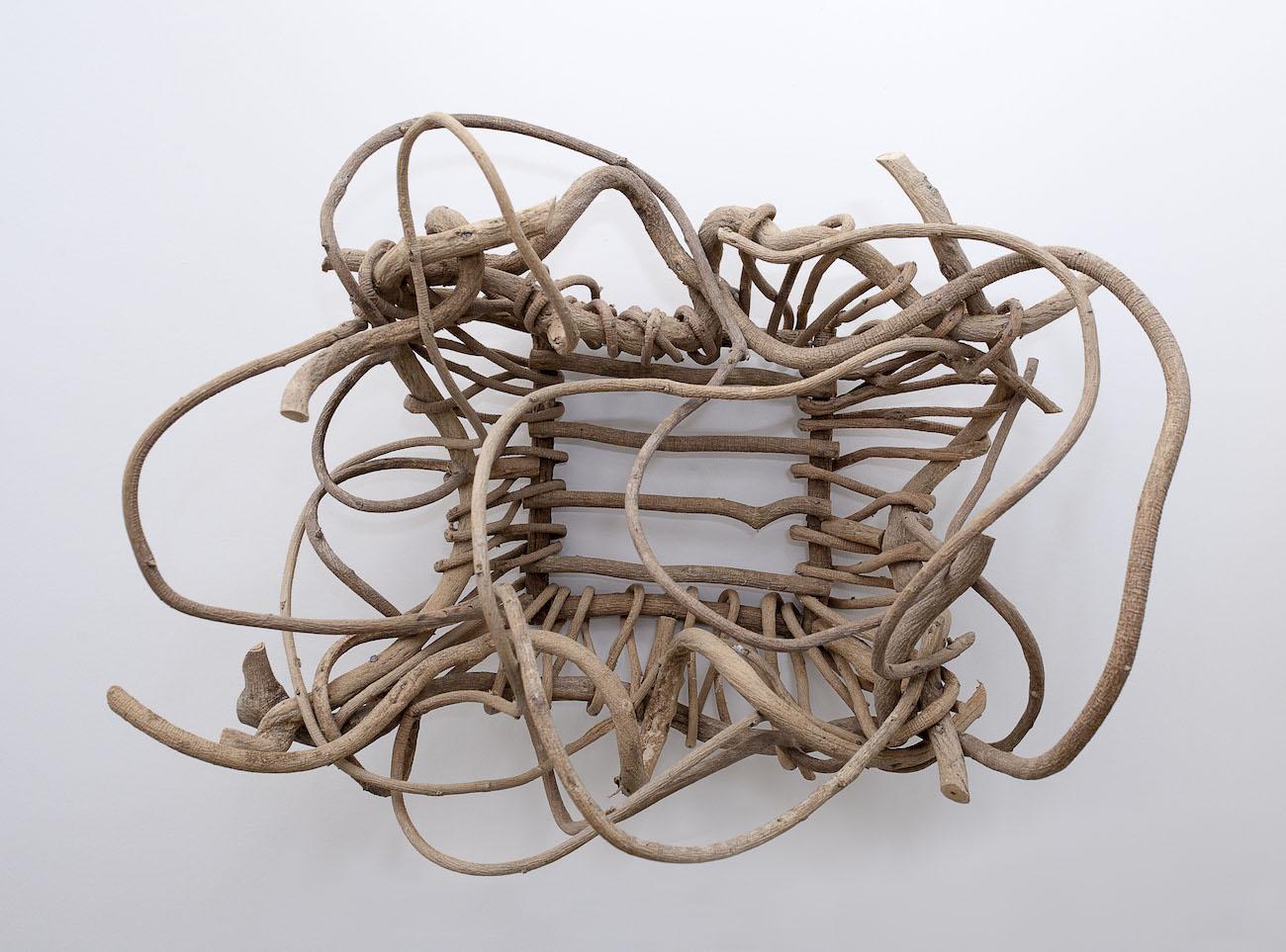 Kudzu basket (found) - Nell Gottlieb