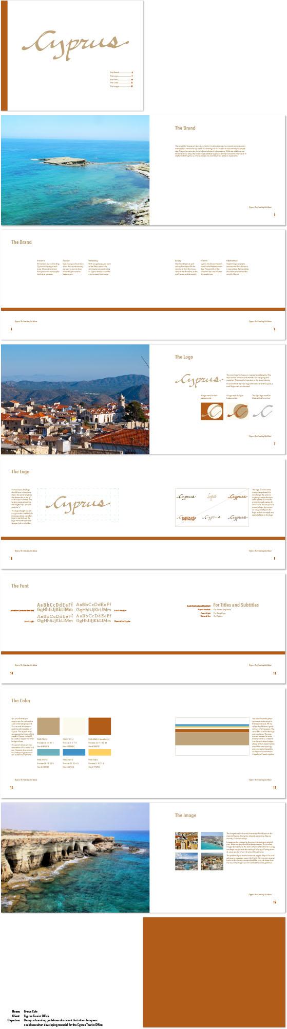 Branding Book Design