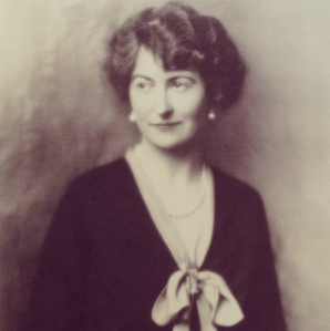 Mildred Bliss, ca. 1927 Source:  The Dumbarton Oaks Oral History Project