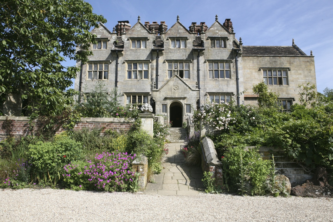 William Robison's home, Gravetye,was built in 1598. He bought it along with 1,000 surrounding acres in 1884 to create his garden.