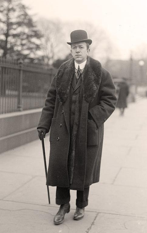 George Burnap, 1914. OldPictures.com