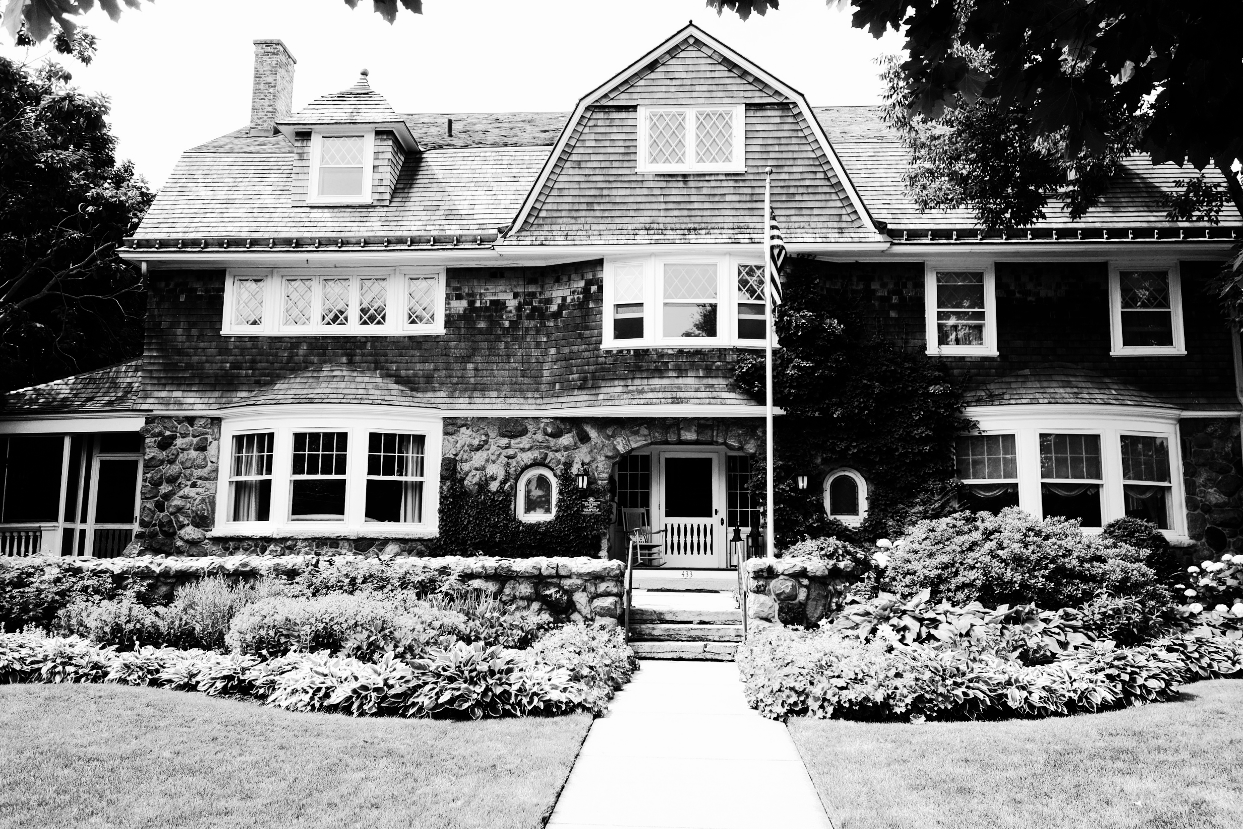 Catherine's house, built in 1904, is on the State Register for Historic Places.