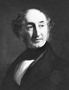 William Hooker, the first director of the Royal Botanic Garden at Kew and the designer of the Plant Family Beds. Source:  Encyclopedia Britannica
