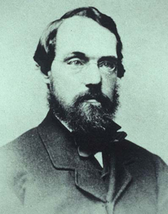 Calvert Vaux, the visionary architect behind NYC's Central Park, was born on December 20, 1824.