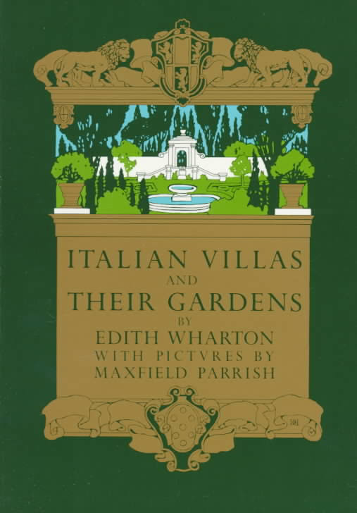 Edith Wharton fueled a renewed interest in the Italian renaissance garden with her 1904 book.