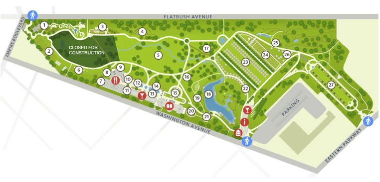 Garden map. Click on map to see more detail.