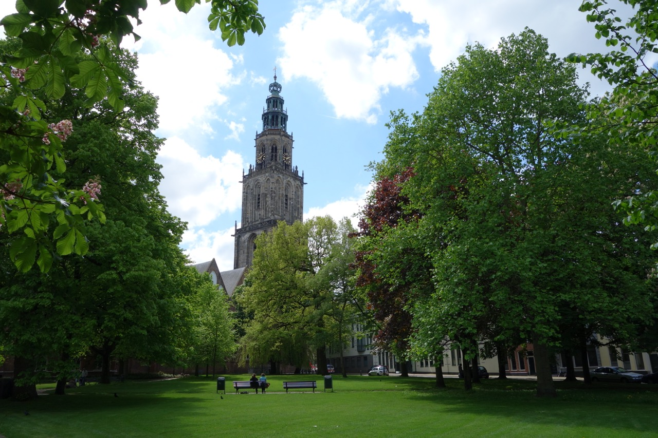 Groningen is the largest city in the north of the Netherlands and dates to around 1000.  Prinsenhof sits in the older part of town.