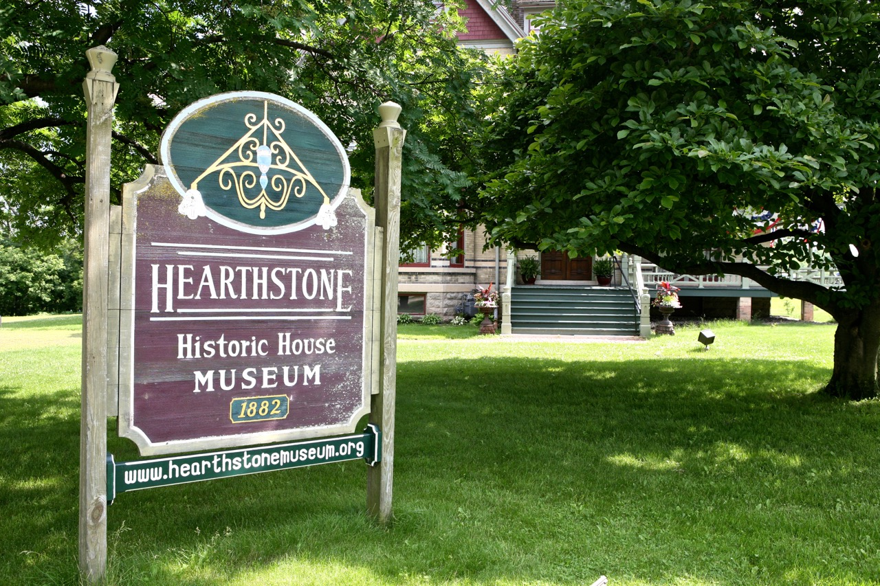Hearthstone became a museum in 1986 after a grass  -roots effort   saved the building from its demolition.