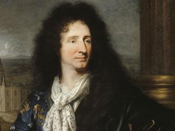 "Jules Hardouin Mansart designed the ""Green Rooms"" gardens in 1687.  Portrait of Jules Hardouin-Mansart, by Hyacinthe Rigaud, 1685 © RMN / Gérard Blot"