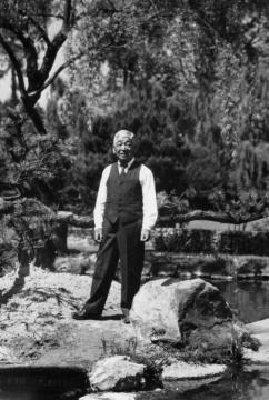 Fujitaro Kubota, circa 1927. Source:  Kubota Garden Foundation