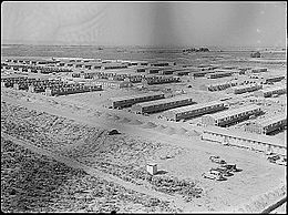 Minidoka War Relocation Center as seen in 1943. Kubota and his family were interned there in the 1940's.  The site is now a National Historic Site.