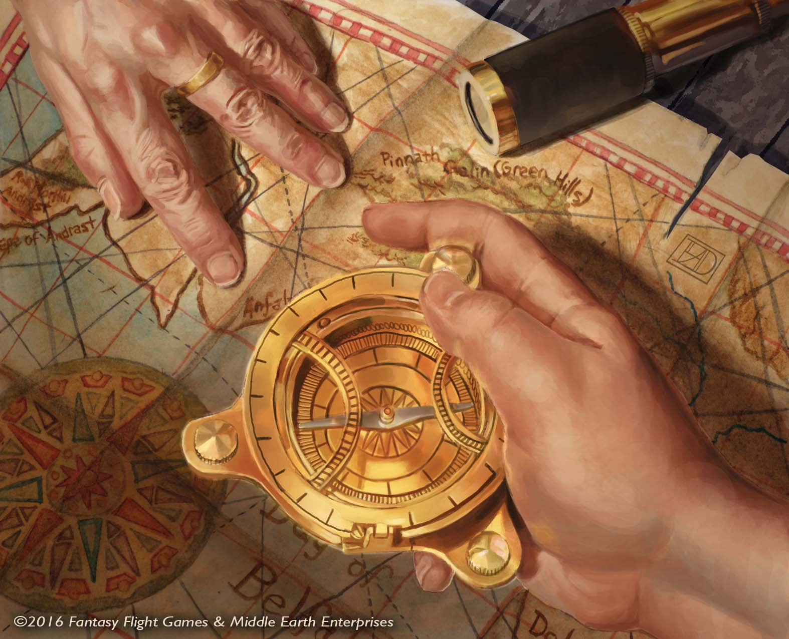Lord of the Rings: Mariners Compass