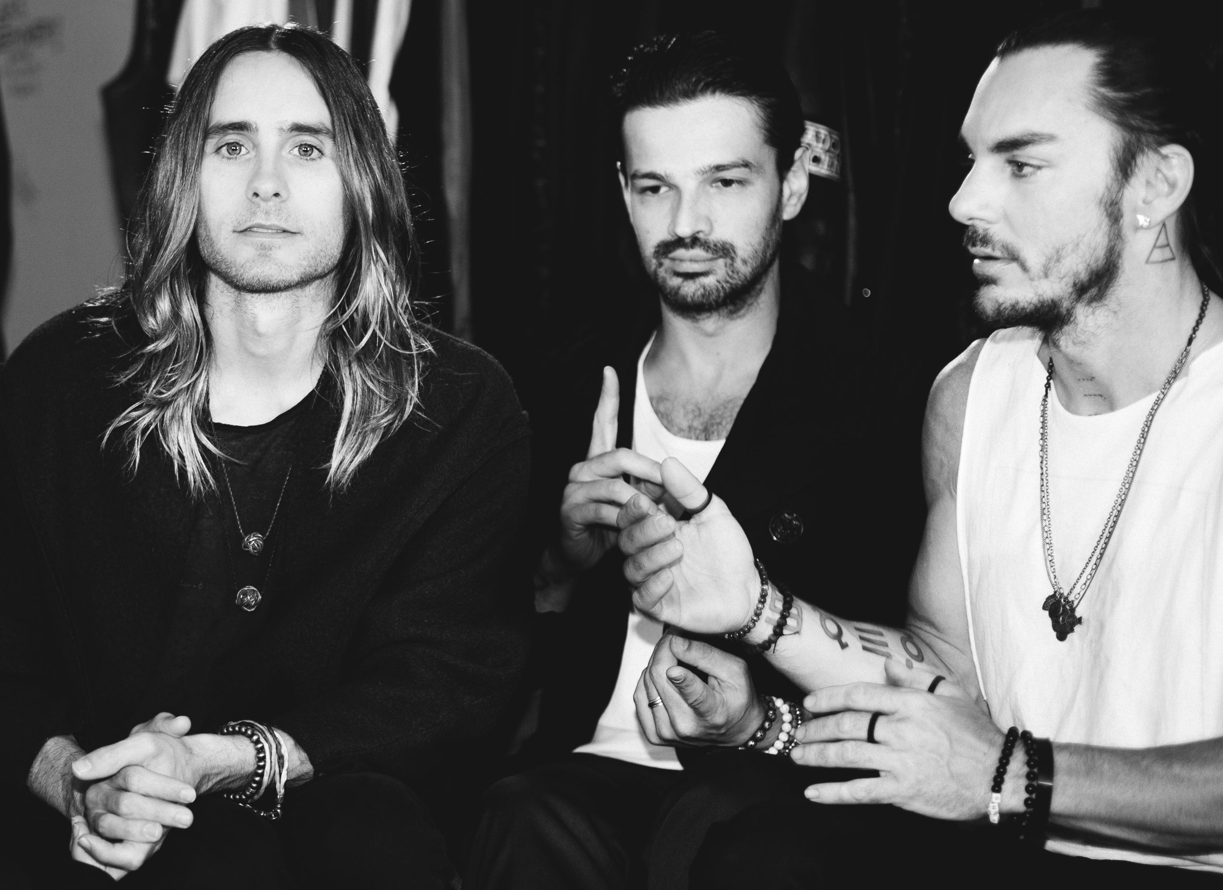 Thirty Seconds to Mars BTS Ladygunn