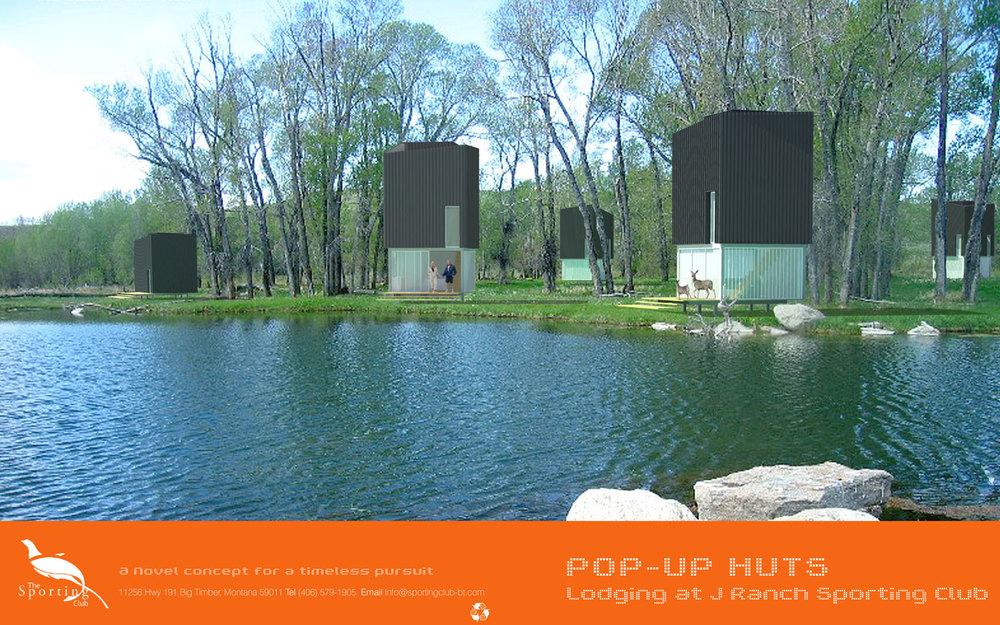 Pop Up Huts