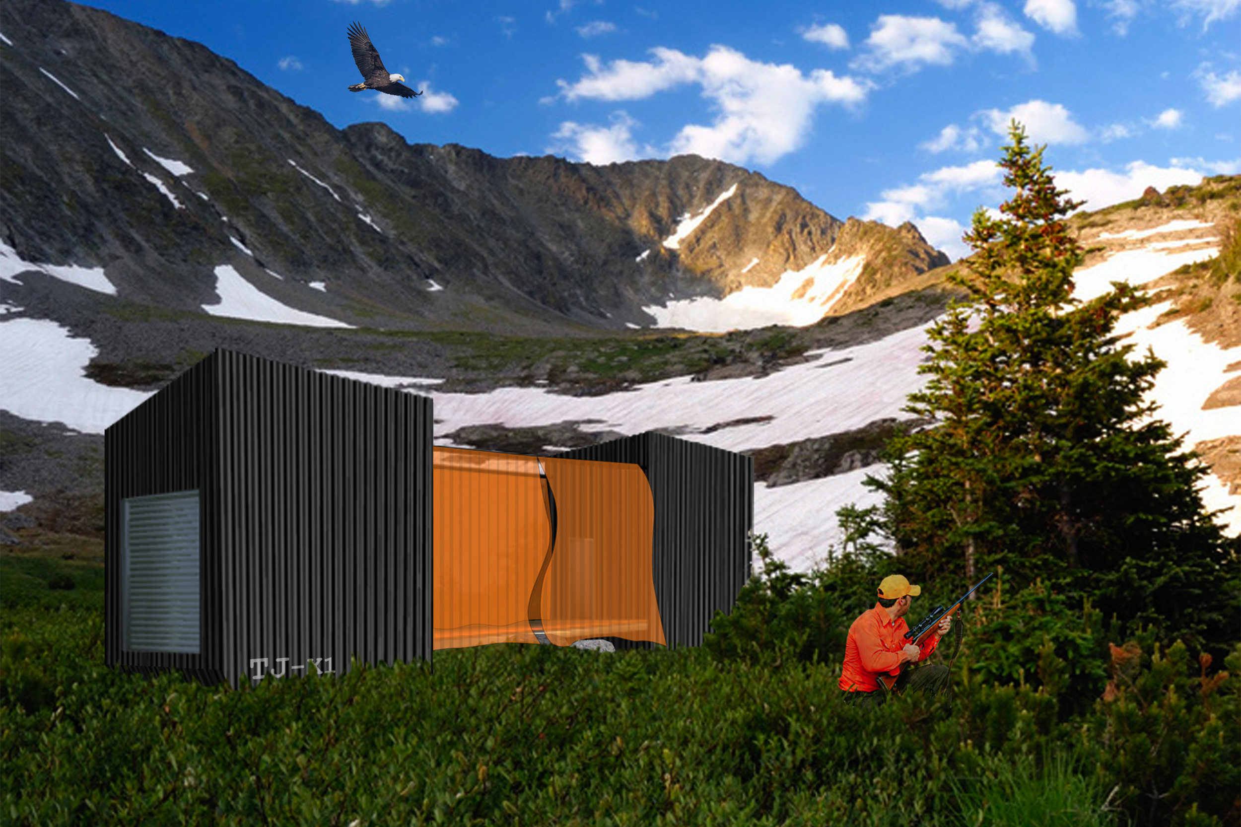 Camp Cabins TJ-X1