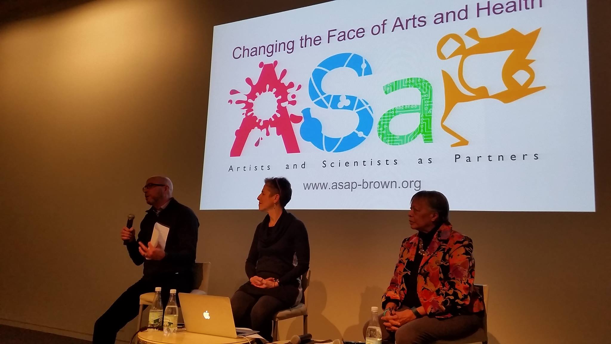 Jay Baruch, Rachel Balaban, and Julie Strandberg at Le Lab