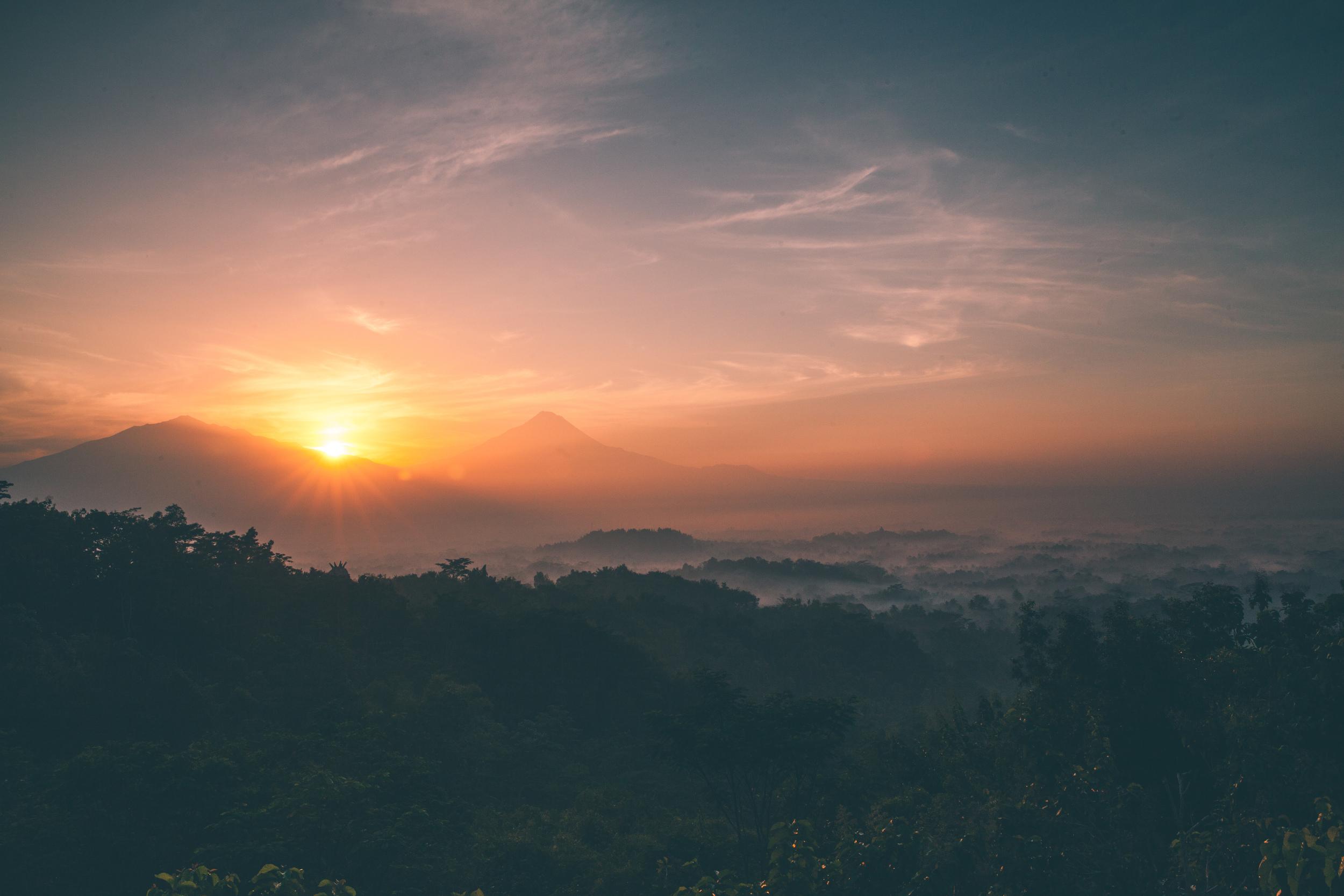 Borobudur - Yogyakarta, Indonesia une2015