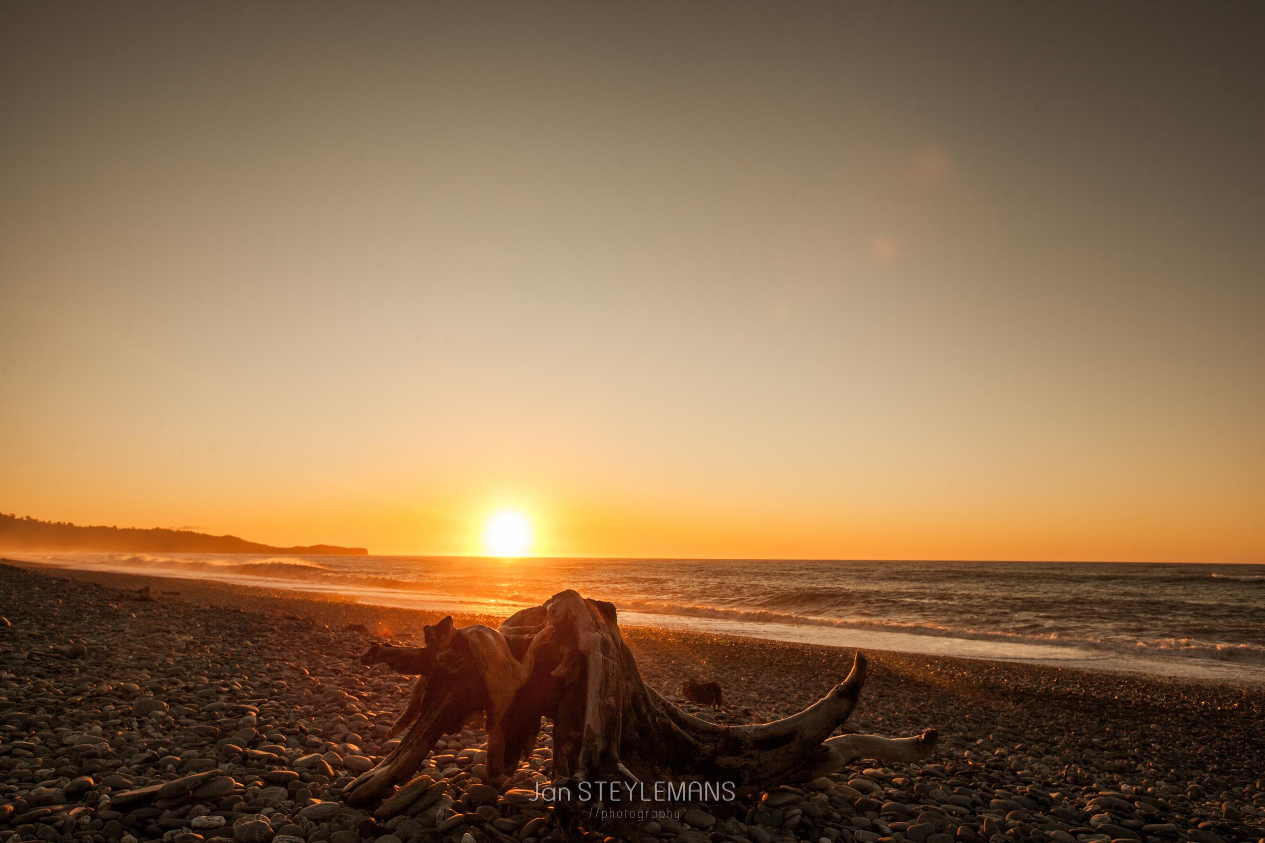 Sunset at Gillespie Beach