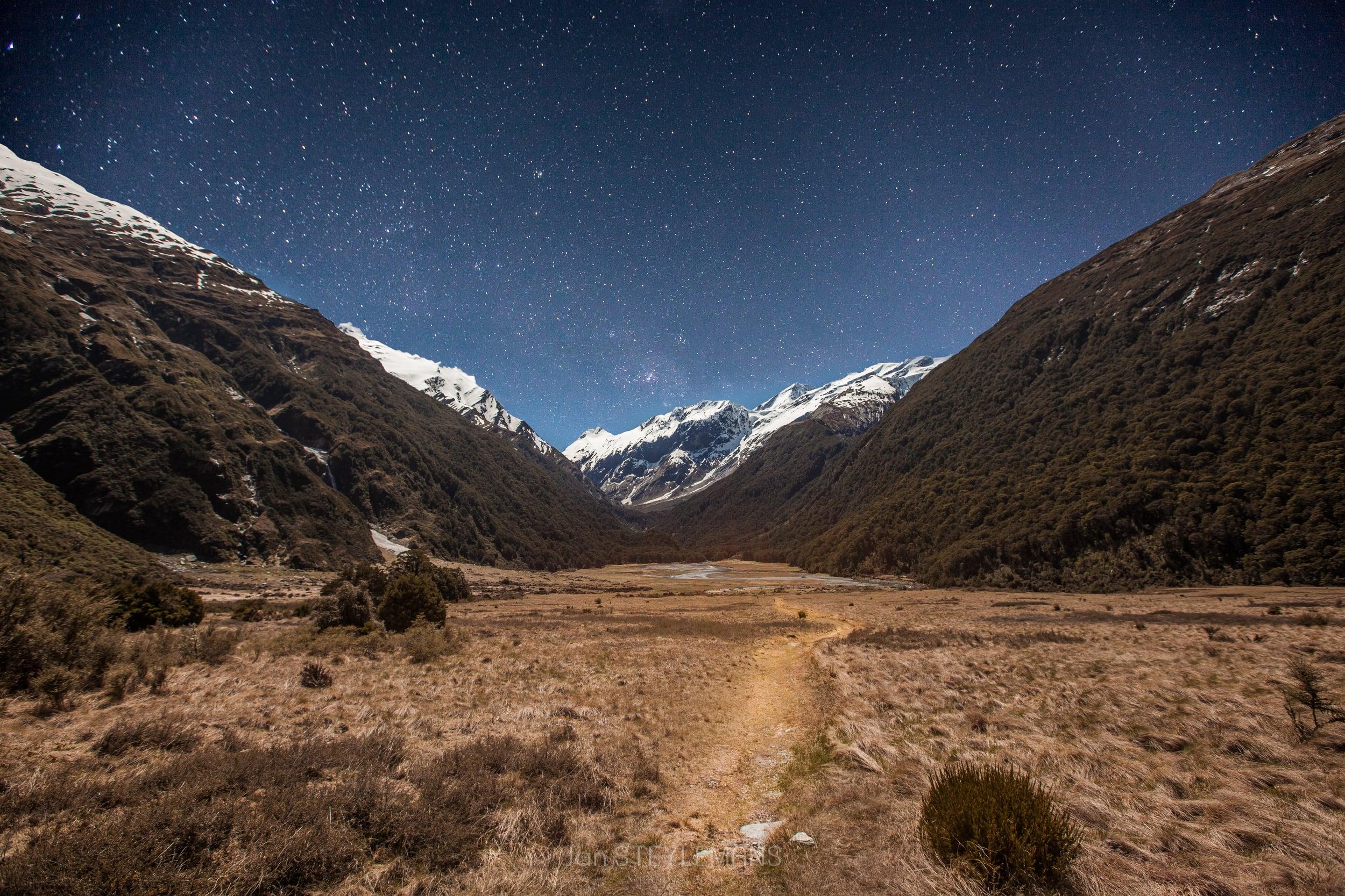 Pearl Flat, Mount Aspiring National Park, New Zealand
