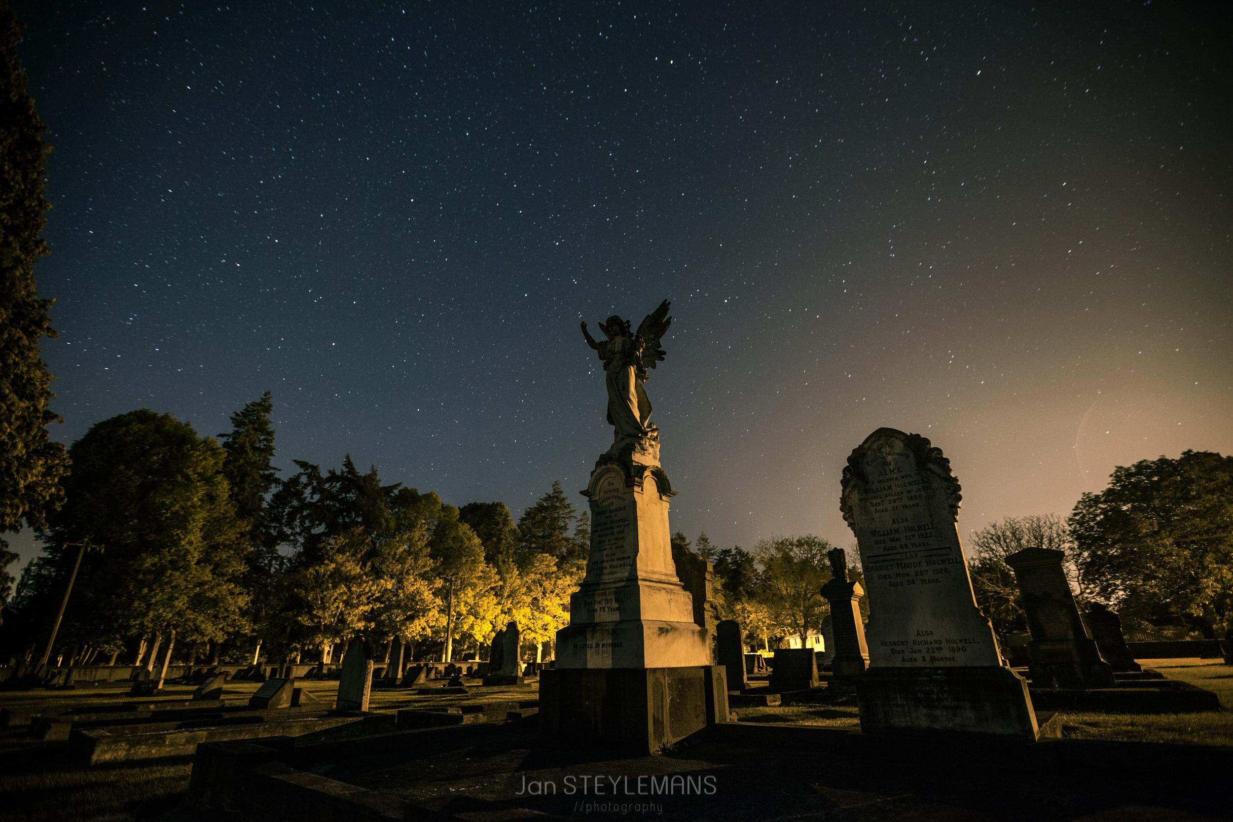 Graveyard, Temuka, New Zealand