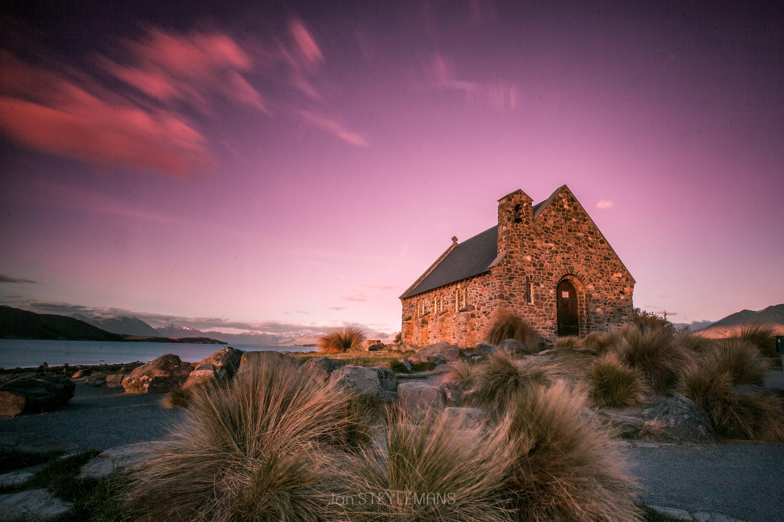 Church of the good sheppherd, New Zealand