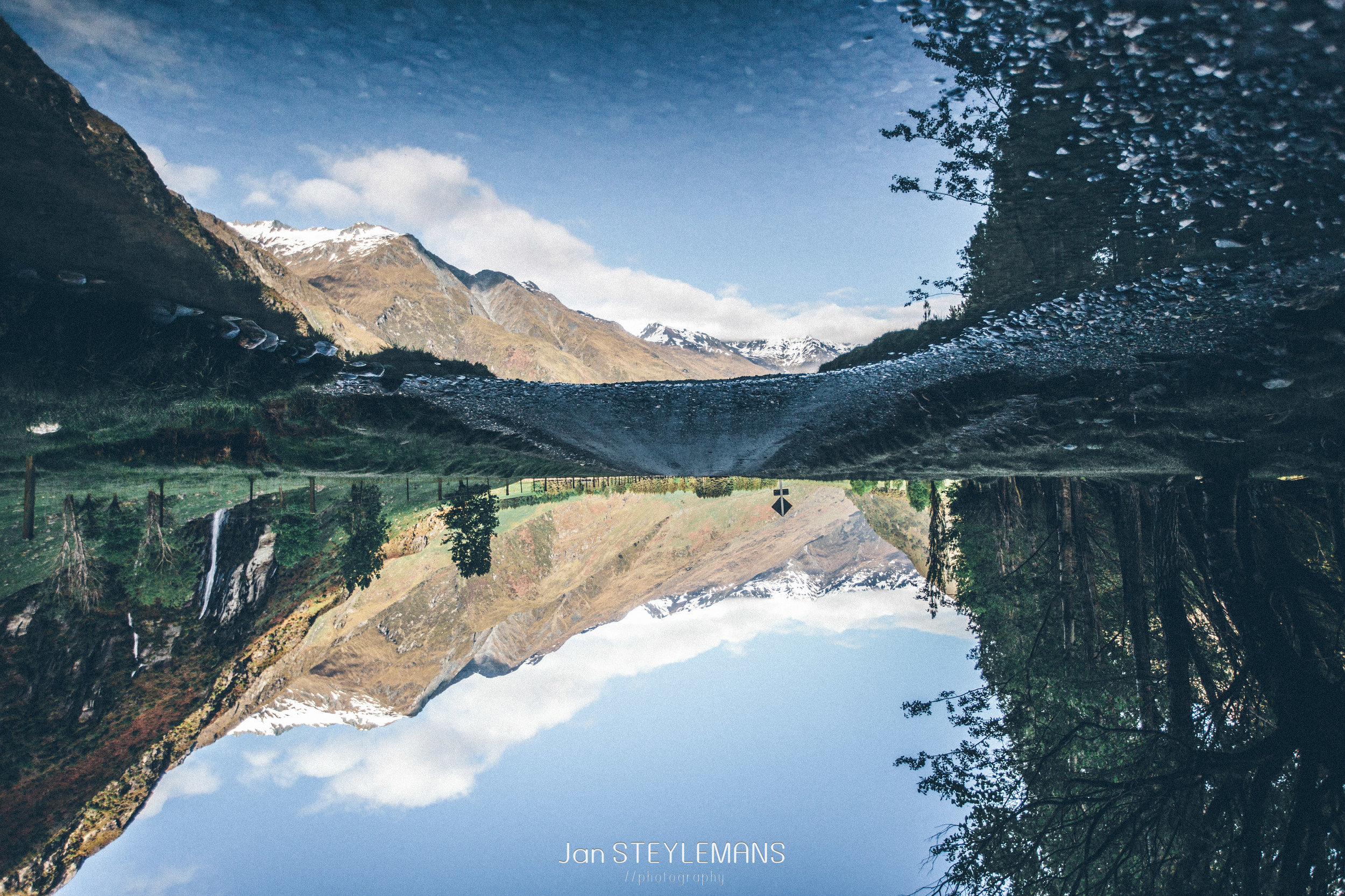 12. Mirror mirror, Mount Aspiring National Park, New Zealand
