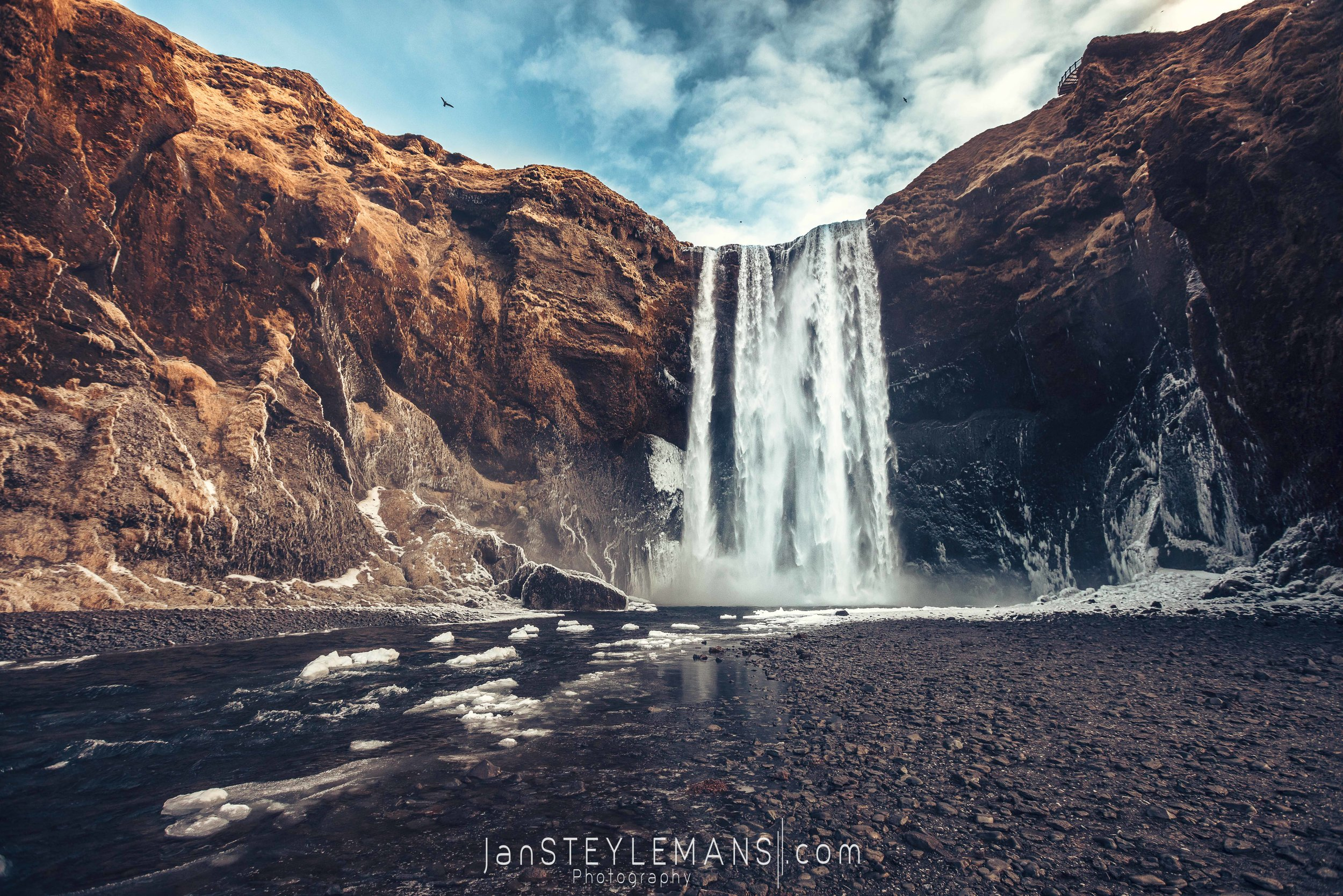 49. Skogafoss, Iceland.  Color