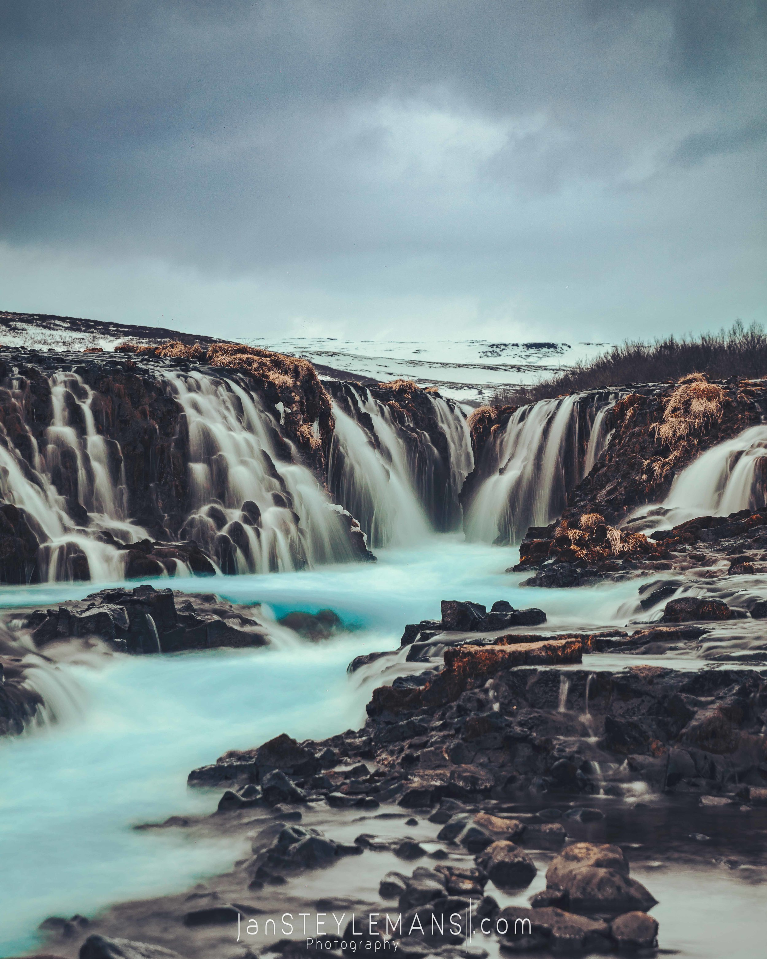 56. Bruarfoss, Iceland
