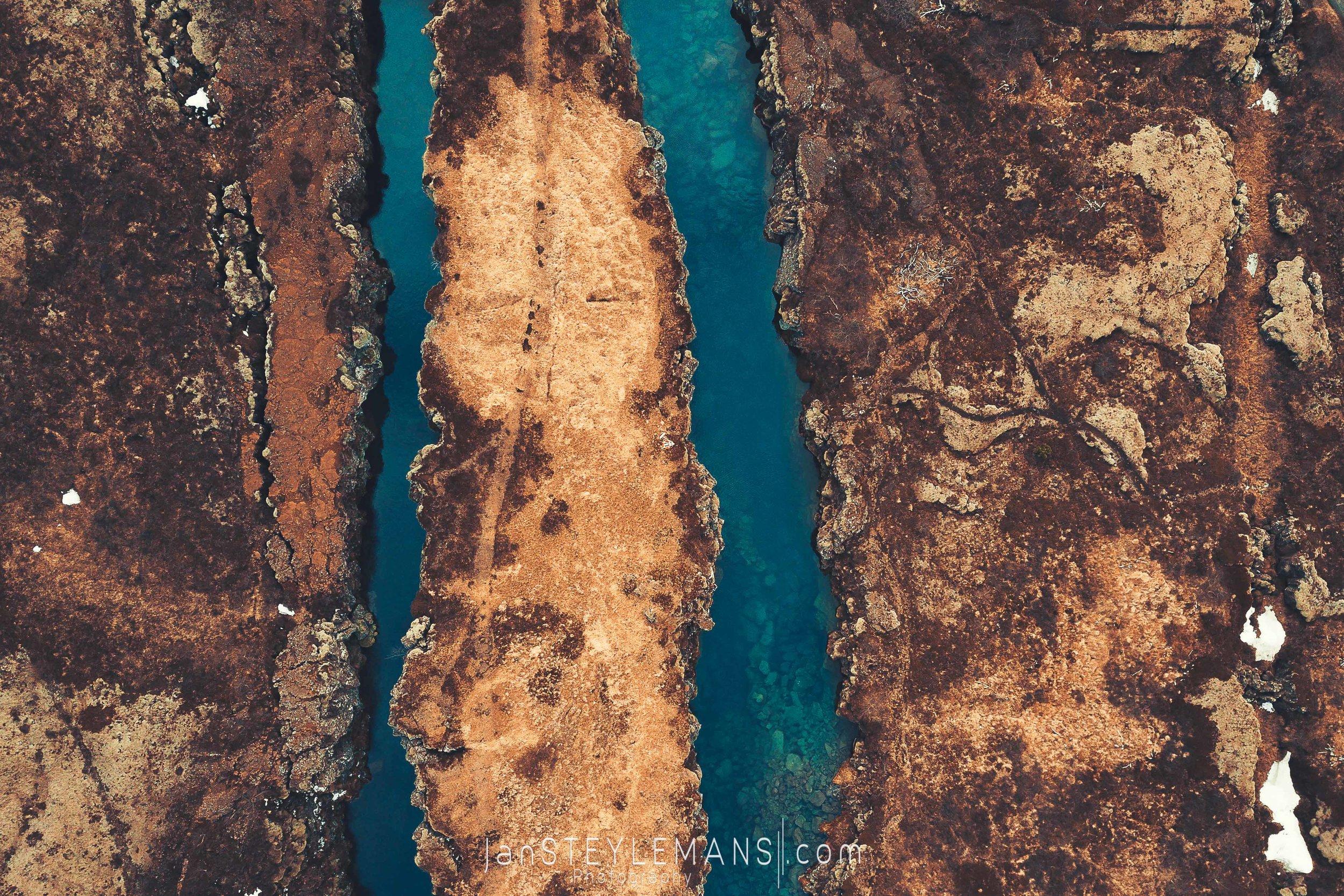 58. Pingvellir, Iceland. (aerial)