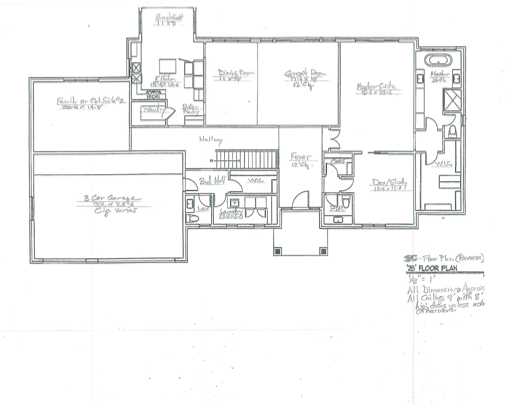 Lot B and C Main Floor Concept