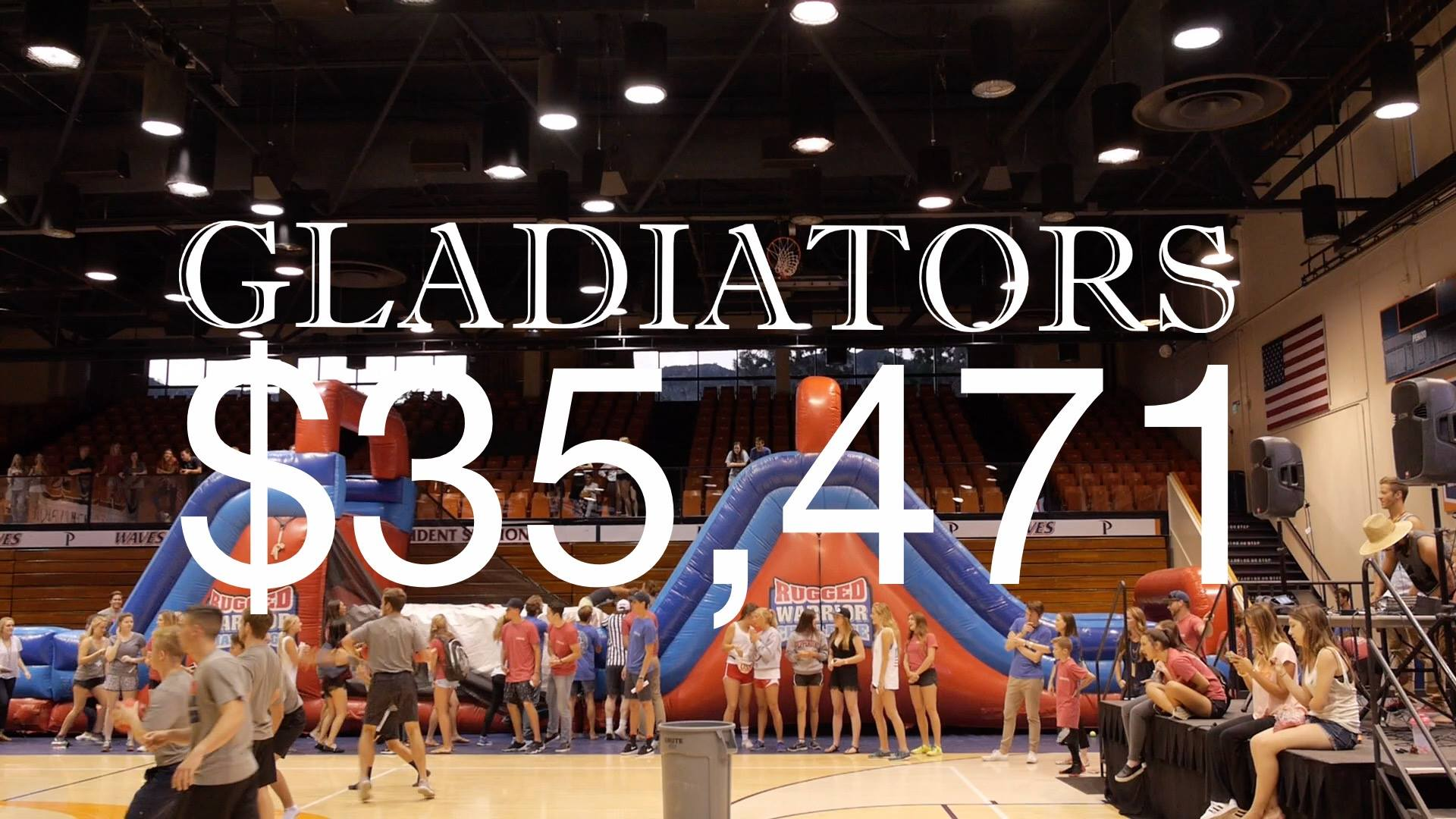 At Gladiators 2016, our community raised $35,471 for Cystic Fibrosis Research!