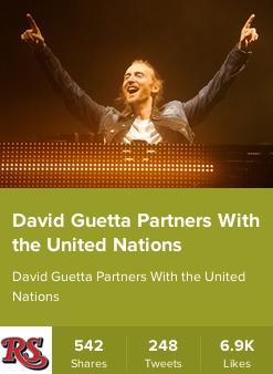 Rolling Stone - David Guetta interview