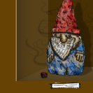 Almost Definitely Cursed Wooden Garden Gnome