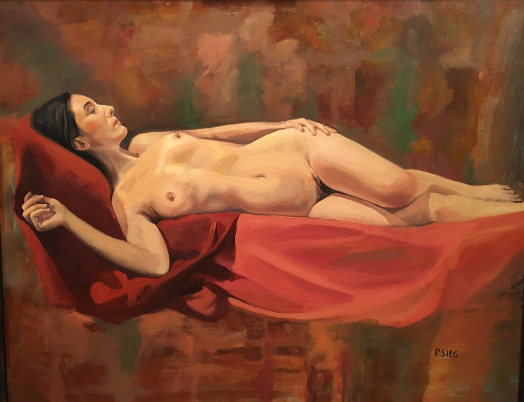 "What Dreams May Come  30"" x 24"", oil on canvas For sale,  contact the artist"