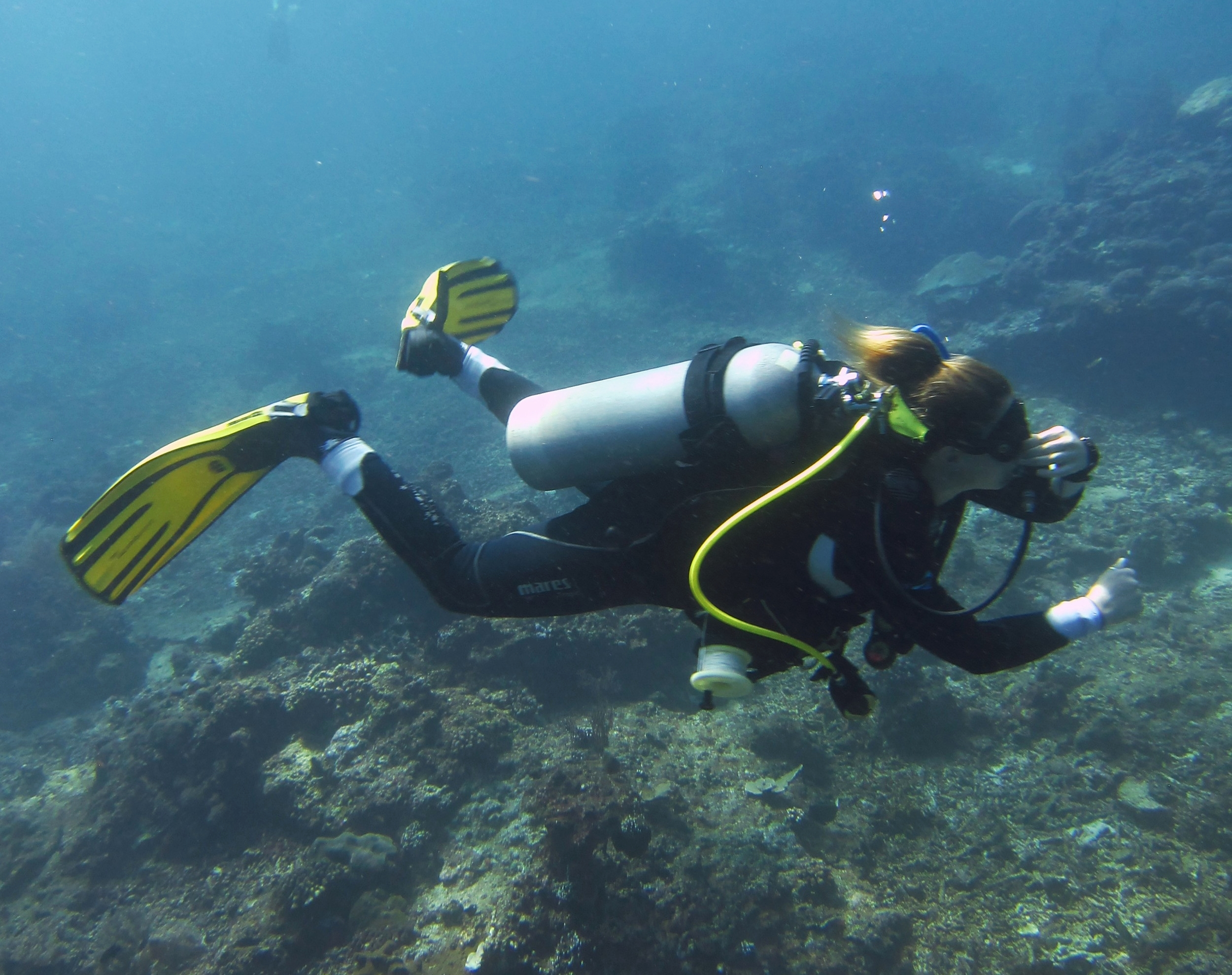 Equalizing often throughout your dive will help to prevent discomfort