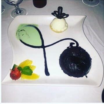 chocolate fondant cake, full of oozing chocolate