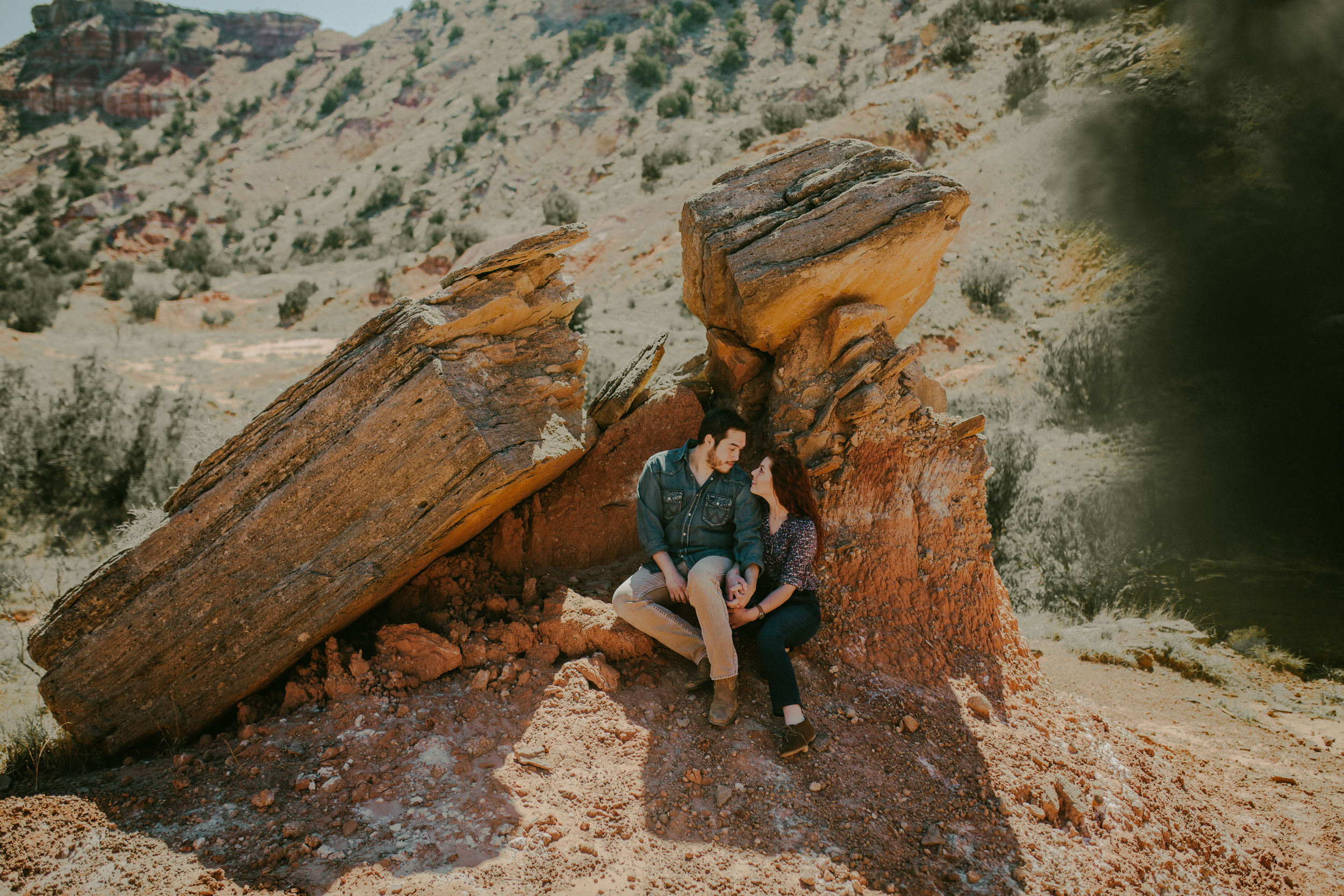 Jillian and Aaron - Palo Duro Engagement Session-5.jpg