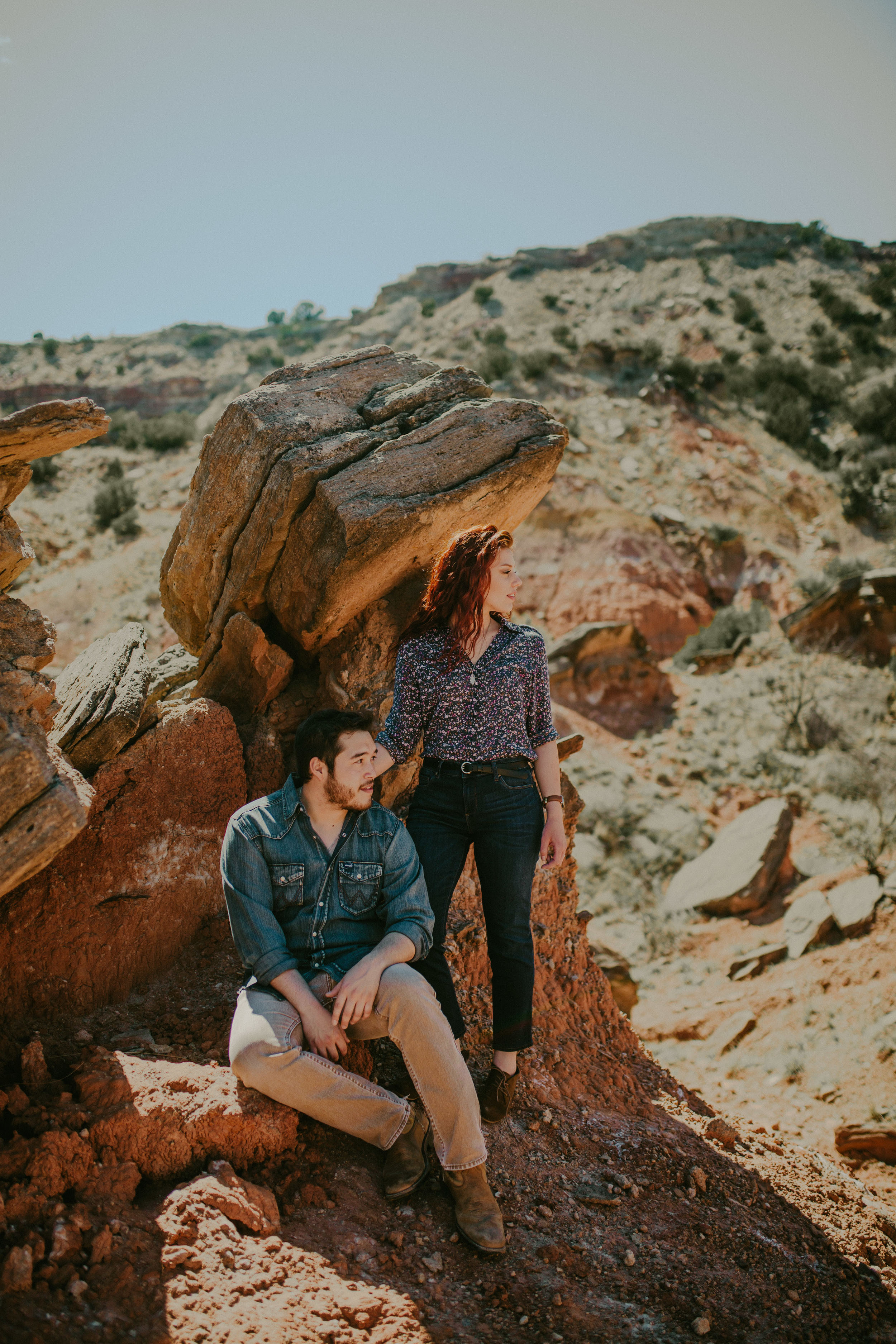 hipster engagement session in Palo Duro Canyon-2.jpg
