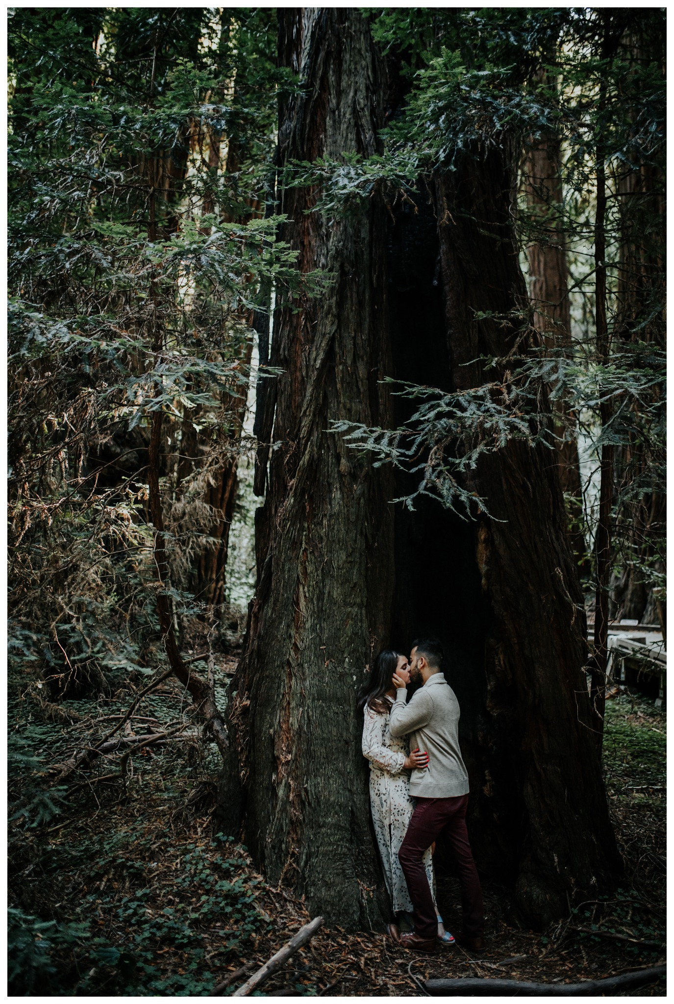 San Francisco - Muir Woods - China Beach Engagement Session -2016.jpg